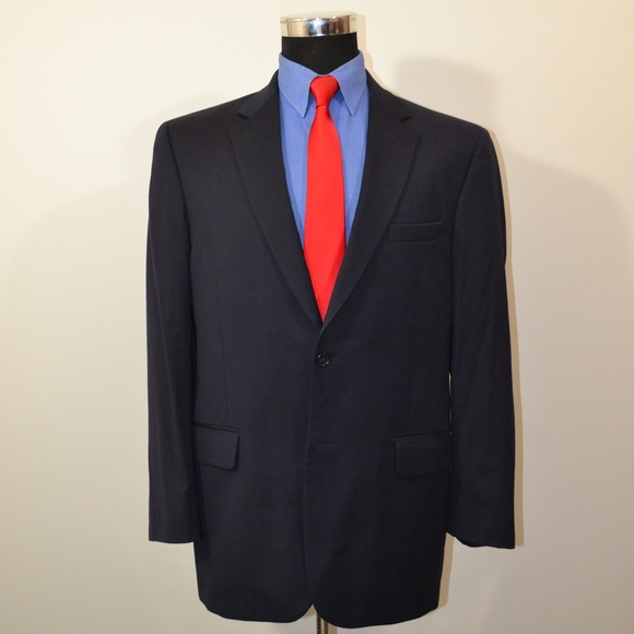 Jos. A. Bank Other - Jos A Bank 41R Sport Coat Blazer Suit Jacket Navy
